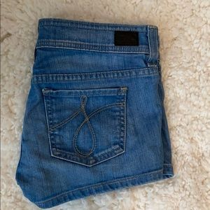 Juicy Couture Snap Dragon Patch Pocket Shorts